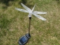 Preview: Led Solar Lampe Farbwechsler Schmetterling Kolibrie Libelle