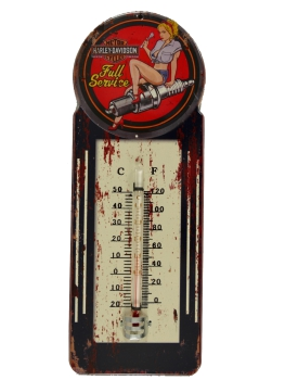 "Nostalgisches Thermometer ""Full Service"""